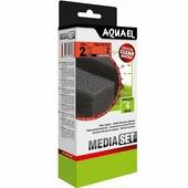 AQUAEL Сменная губка для фильтра FAN 3 Plus CARBOMAX с угольным наполнителем, 2шт