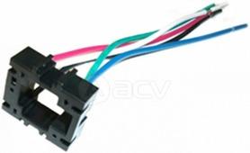 Колодка для автомобильного реле ACV RM37-1722 - колодка для 5-ти конт мини Реле