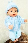 Набор одежды для куклы Baby Born - Небесный Сasual Handmade