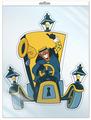 Сфера ТЦ издательство ФМ2-12437 мини-плакат вырубной В пакете: Карета из м/ф (с европодвесом)