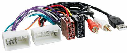 Переходник для подключения магнитолы Incar ISO HY-03A - ISO переходник Hyundai / KIA (+USB/AUX)