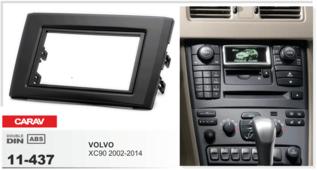 CARAV 11-437 - VOLVO XC90 2002+ 2-DIN переходная рамка
