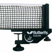 Сетка для теннисного стола Butterfly Europa, ( винтовые зажимы)