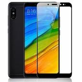Противоударное защитное стекло с полным клеем Full Glue Screen Cover 0.3mm черное Xiaomi RedMi Note 5\ RedMi Note 5 Pro