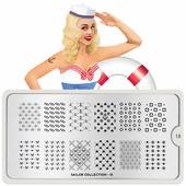 Пластина для стемпинга MoYou London Sailor 15