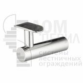 Пристенный кронштейн с ложементом под поручень ∅50,8 мм