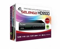 Selenga HD 950D Цифровой ТВ приемник TV-тюнер ресивер приставка цифрового эфирного телевидения бесплатно 20 каналов DVB-T2