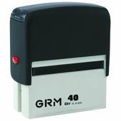 GRM Штамп самонаборный шестистрочный 59 х 23 мм. 231668