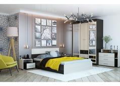 Спальня Юнона-2 (венге, дуб)