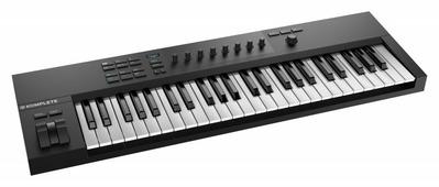 Native Instruments KOMPLETE KONTROL A49 49 клавишная полувзвешенная динамическая MIDI клавиатура, 8