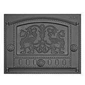 Дверка каминная ДК-2Б, «Грифоны» Рубцовское литье dk-2b-g