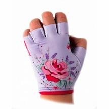 Велоперчатки Vinca Sport детские Rose (5, white/rose)