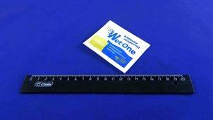 Салфетка влажная в индивидуальной упаковке Wet One Лимон.56476/90L