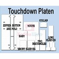 N40000313 Набор универсальных столиков для печати Touchdown Complete Platen Kit