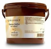 Масло какао Callebaut, в каллетах, 3 кг