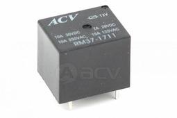 Реле автомобильное ACV RM37-1711 - Реле автомобильное, мини