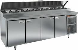 Холодильный стол для пиццы HICOLD PZ1-1111/GN