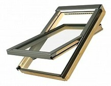 Мансардное окно энергосберегающее Fakro Standart FTS V U2, 1140x1180 мм
