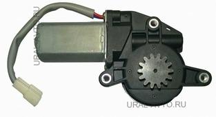 Моторчик стеклоподъемника Granat Мотор стеклоподъемника MABUCHI ZD12401GR - 14 зубьев (серый)