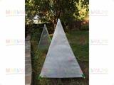 """Укрытие для растений """"Пирамида"""" (2 чехла+ стеклопластиковый каркас), шир 50см, высота 70см"""