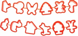 Луч Набор формочек для пластилина 12 шт