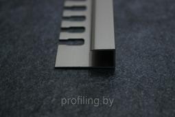 П образный профиль для плитки 10мм шампань 270см