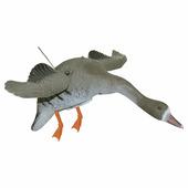 Чучело гуся машущего крыльями Sport Plast