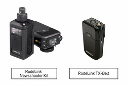 RodeLink Newsshooter Kit + RodeLink TX-Belt