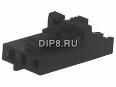 NCDG-03, Корпус вилки NCD шаг 2,54мм 3 контакт.,