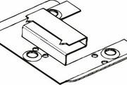 Крепления для стеновых панелей Kronowall 3D (уп. 100 шт.)