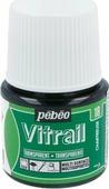 Pebeo Краска для стекла и металла Vitrail лаковая прозрачная цвет 050-018 шартрез 45 мл