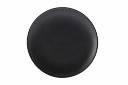 Тарелка закусочная (чёрная) Икра без инд.упаковки Maxwell & Williams