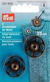 """Набор кнопок """"Prym"""", для вязаных изделий, 25 мм, 2 шт"""