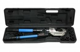 Forsage Инструмент гидравлический обжимной для кабелей 12т(ход штока-32мм, сечение 16-400мм2, адаптеры-16,25,35,50,70,95,120,150,185,240,300,400мм), в кейсе F-Y35