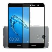 для Huawei Y7 Защитное стекло Ainy Full Screen Cover 2,5D 0,33 мм черное