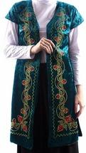 мусульманский женский камзол с орнаментом