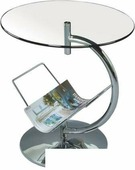 Журнальный столик Halmar Alma (бесцветный)