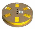 Профиль безгалогеновый овальный Partex POZ08 на провод 6.0 мм², Ø 4.6 / 5.5 мм, желтый (рулон 100 м) {POZ08000KN4}