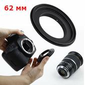 Реверсивное кольцо JJC RR-EOS Canon 62 мм