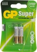 Элементы питания Батарейка GP Super AAA 24A - (1шт)