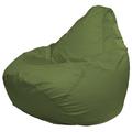 Кресло-мешок FLAGMAN Груша Мега оливковый (Г3.2-03)