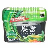 KOKUBO Поглотитель неприятных запахов для общего отделения холодильника с экстрактом зеленого чая, 150 гр.