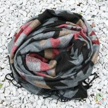 Непальские шарфы Шерстяной шарф Гьянендра