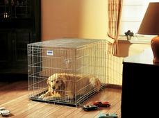 """Переноска-клетка для животных Savic """"Residence"""", цвет: серый, 107 х 71 х 81 см"""