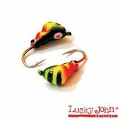 Мормышка вольфрамовая Lucky John муравей покраска с петел. 030/23