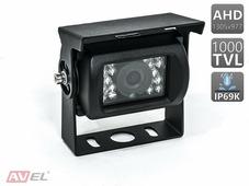 Камера заднего вида AVEL AVS407CPR (AHD) - Видеокамера для грузовых автомобилей и автобусов (HD)
