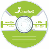 Диск DVD+R 4.7Gb Smart Track 16x Slim ST000222