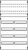 2 V 23KA Панель для модульных уст-в 2ряда/6реек ABB, 2V23KA