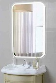 Зеркало Континент Glamour LED (69х92)