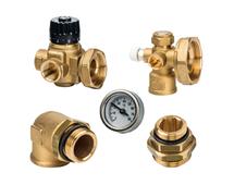 Комплект для насосной группы с термостатическим клапаном, без насоса (АРТ. SDG 0020 001000)